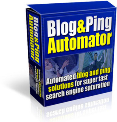 Pay for Blog And Ping Automator With Resell Rights