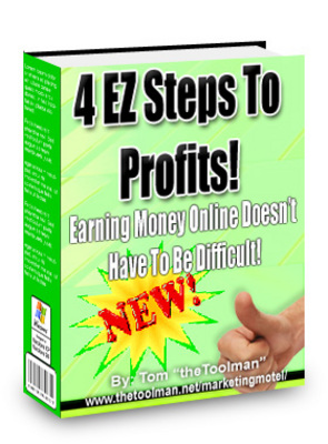 Pay for 4 EZ Steps To Profits - With Master Resell Rights