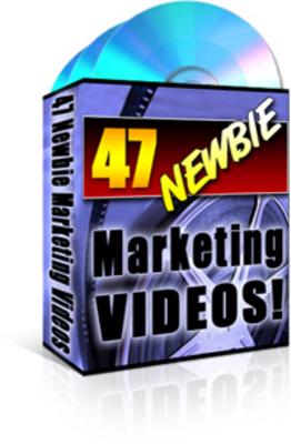 Pay for 47 Newbie Marketing Videos - Master Resale Rights