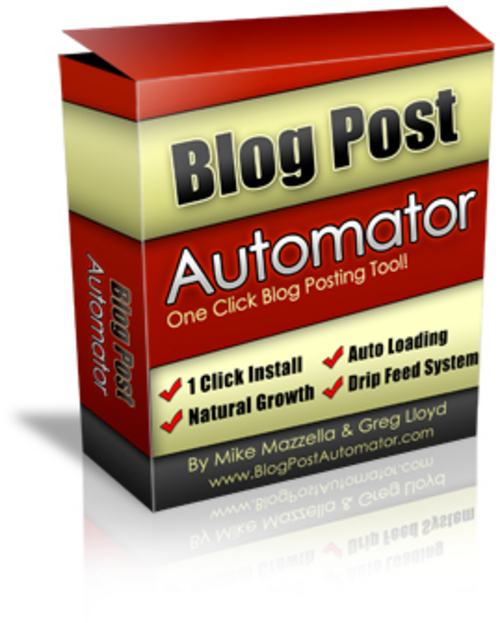 Pay for Blog Post Automator - One Click Blog Posting Tool! - Mrr