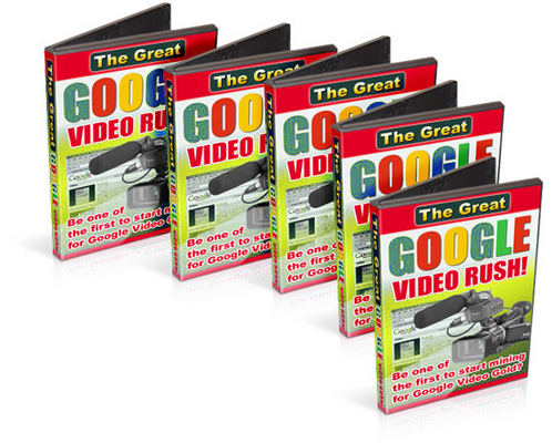 Pay for The Great Google Video Rush! -With Resell Rights