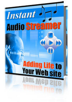 Pay for Instant Audio Streamer - Master Resell Rights