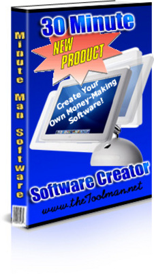 Pay for 30 Minute Software Creator -W/PLR + Bonus