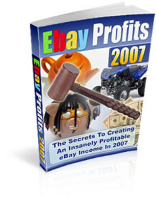 Pay for eBay Profits - Master Resell Rights