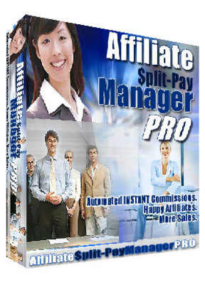 Pay for Affiliate Split Pay Manager Pro with Master Resale Rights