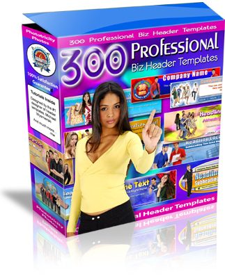 Pay for 300 Pro Business Headers - The Secret Source