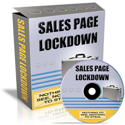 Pay for *NEW!* Sales Page Lockdown With PLR