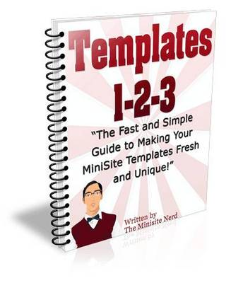 Pay for Templates 1-2-3 Make your Own or Use one of 19 Ready Made