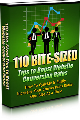 Pay for 110 Bite Sized Tips To Boost Website Conversion Rates - Mrr