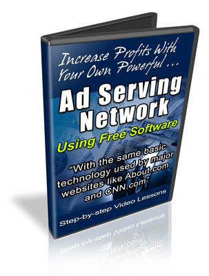 Pay for Ad Serving Network - Video Course with MRR