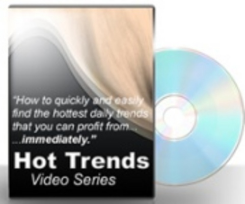 Pay for Hot Trends Video Series -With Private Label Rights