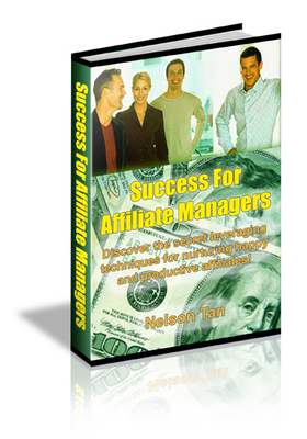 Pay for Success For Affiliate Managers - Mrr
