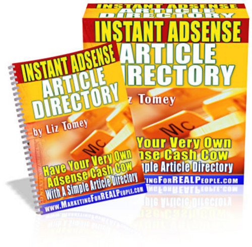 Pay for Instant Adsense Article Directory - Mrr