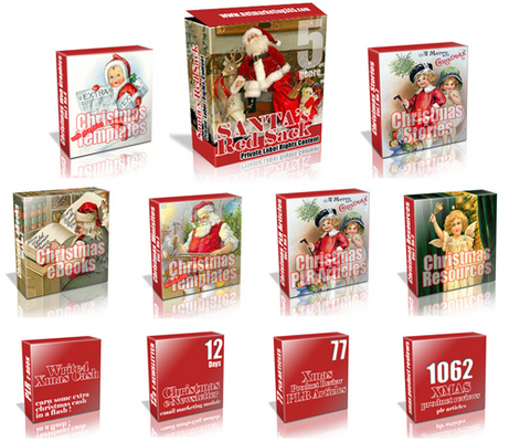 Pay for Huge Christmas PLR Value Package!