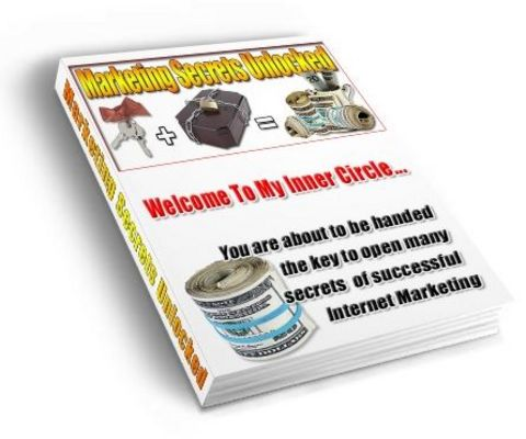 Pay for Marketing Secrets Unlocked - Plr!