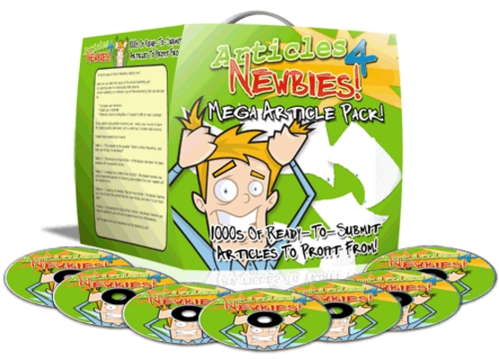Pay for Articles 4 Newbies Video Course - Mrr! +1,000 Pre-Spun Revie