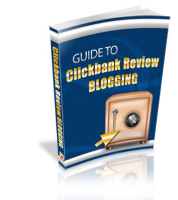 Pay for Guide To Clickbank Review Blogging - Plr!