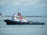 Thumbnail Tug boat in the cloud