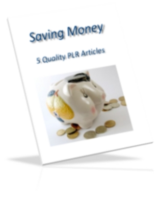 Pay for Saving Money PLR Articles