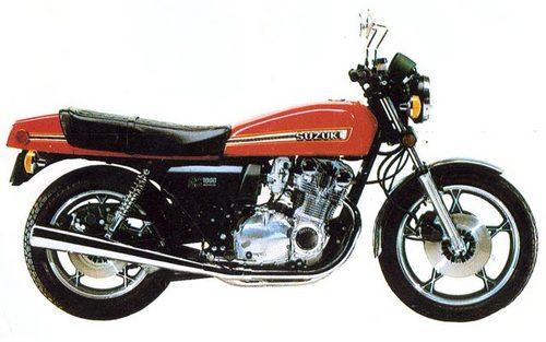Free Suzuki GS1000 1977-1986 Service Repair Manual download Download thumbnail