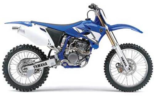 Yamaha Yz250f 2003
