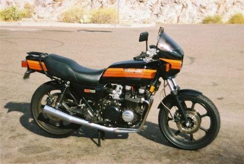 Kawasaki Kz750 Four 1980