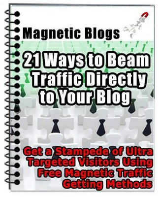 Pay for Magnetic Blogs - 21 Ways to Beam Traffic Directly to Blog
