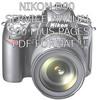 Thumbnail Nikon D90 SLR Camera Service manual