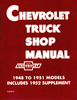 CHEVY PICKUP TRUCK MANUAL 1948 1949 1950 1951 1952