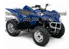 Thumbnail Yamaha Wolverine 450 manual 2003 2004 2005 2006  YFM450