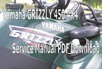 Thumbnail Yamaha GRIZZLY 450 4X4 Service Manual PDF Download