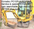 Thumbnail Komatsu Excavator PC12R-8 PC15R-8 Service Manual