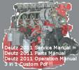 Thumbnail Deutz 2011 Engine Service Workshop Parts Operation Manuals