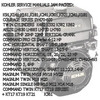 Thumbnail KOHLER SERVICE MANUALS MOTOR ENGINE REPAIR DOWNLOAD