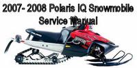 Thumbnail 2007- 2008 Polaris IQ Snowmobile Service Manual book ebook p