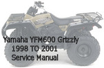 Thumbnail  Yamaha YFM600 Grizzly Service Manual