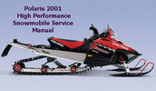 Thumbnail Polaris 2001 High Performance Snowmobile Service Manual