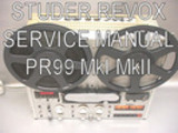 Thumbnail Studer Revox PR99 MkI MkII Service manual pdf book ebook dow