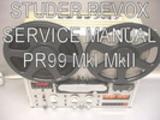 Thumbnail Studer Revox PR99 MkI MkII Service manual pdf book ebook dow
