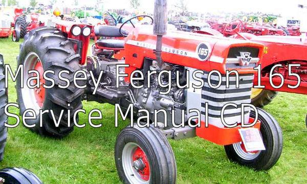 massey ferguson 165 tractor service repair manual. Black Bedroom Furniture Sets. Home Design Ideas