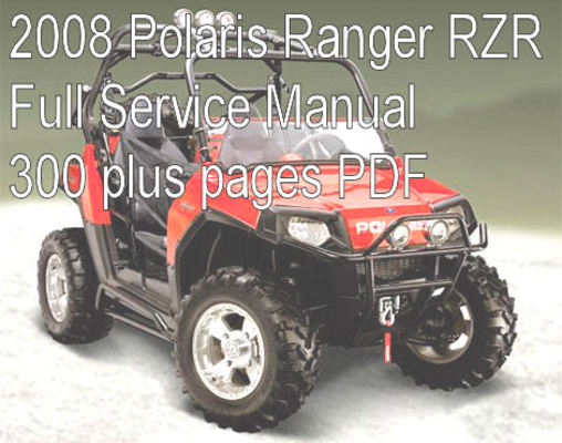 2008 polaris ranger rzr service manual download manuals tec rh tradebit com 2008 polaris rzr service manual pdf Polaris RZR 1000