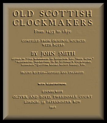 Pay for CLOCKMAKERS  OLD SCOTTISH CLOCKMAKERS book 516 pages