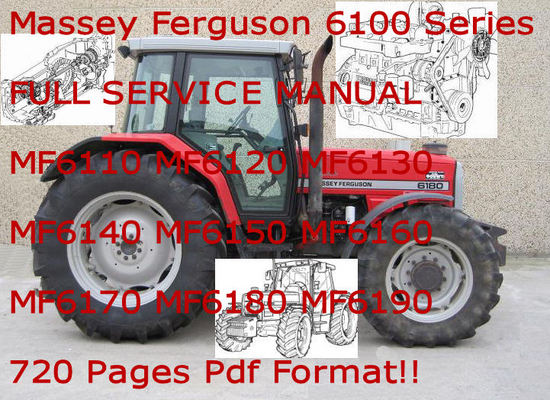 massey ferguson 6100 series tractor service manual download manua rh tradebit com Massey Ferguson 6150 Massey Ferguson 6180 Problem