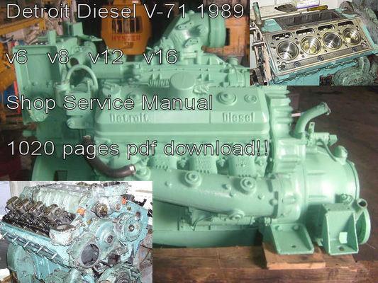 detroit diesel marine engines manual