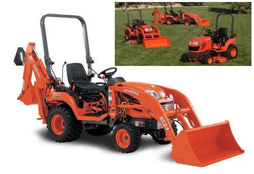 Kubota Tractor Upgrades : Kubota parts manual bx series tractors and la