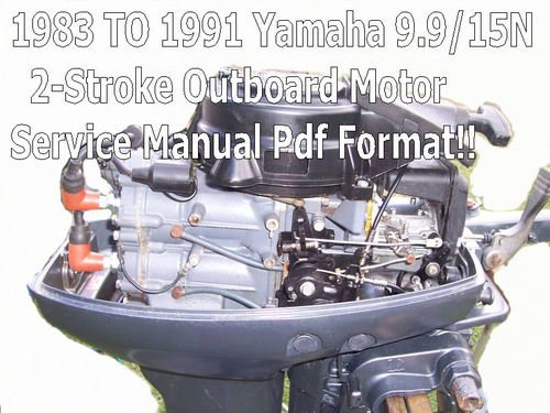 Yamaha 9 9 15n Outboard 2-stroke Service Manual