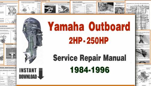 yamaha 2hp-250hp outbord motor boat repair