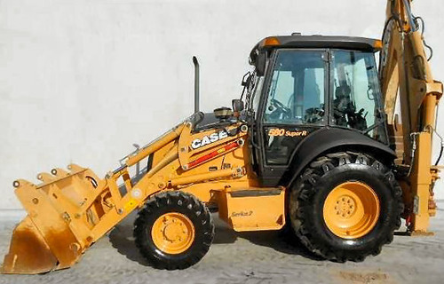 Thumbnail * BEST * CASE 580SR 580SR+ 590SR 695SR Backhoe Loader Technical Service Repair Manual - COMPLETE - INSTANT DOWNLOAD