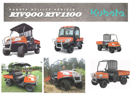 Kubota Rtv 900 1100 Workshop Service Manual 2 In 1 Download Downrhtradebit: Kubota 900 Utility Vehicle Fuse Box Location At Gmaili.net