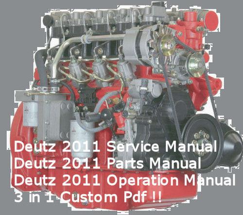 deutz 2011 engine service workshop parts operation manuals downl rh tradebit com Deutz Engine Models Deutz Engine Parts Manual